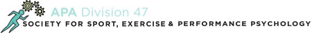 APA Division 47 Society for Sport, Exercise & Performance Psychology