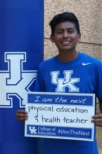 I am the Next Physical Education and Health Teacher