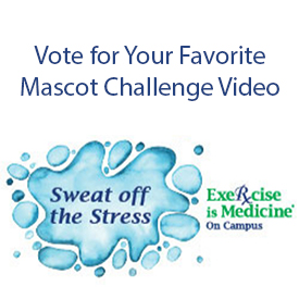 Vote for your favorite mascot challenge video.
