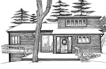 drawing Hunt Hollow Village