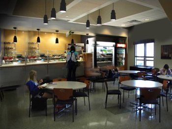 Rendering of what the UK College of Education Café might look like.