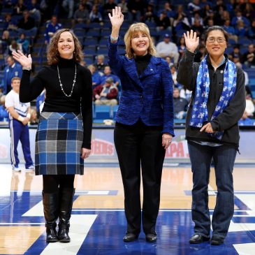 Dean O'Hair and 'Teachers of the Year' Recognized at Rupp