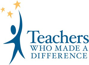 logo for teachers who made a difference program