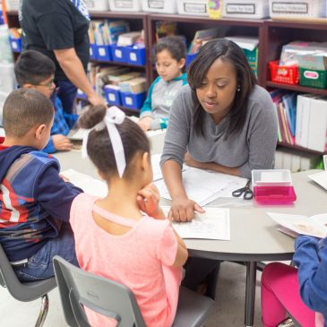 College of Education Works With William Wells Brown Elementary
