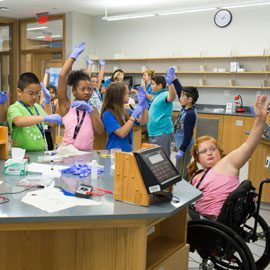 College of Education Partners to Host See Blue STEM Camp