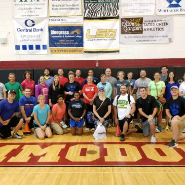 Physical Education Teachers Attend Event Hosted by College