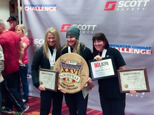 photo of top finishers in Scott Challenge