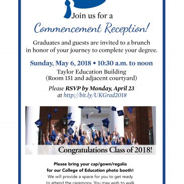 May 6 Graduate Brunch