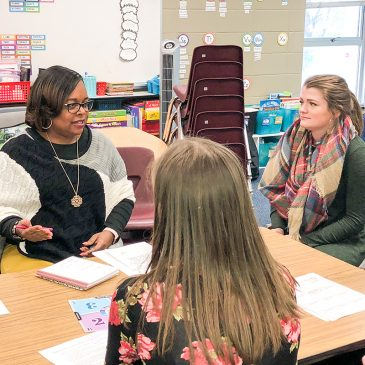Elementary Principals Prep Students for Job Interviews