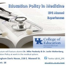 Flyer about colloquium
