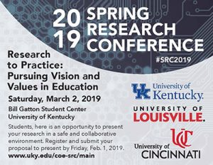 Research conference flyer
