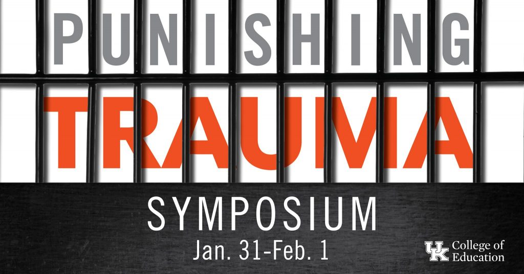 Punishing Trauma graphic for the conference
