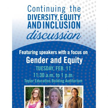 Flyer for diversity equity and inclusion symposium. More information available in story.